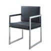 Whiteline Imports Rectangulo Arm Chair (Set of 2)