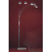 Whiteline Imports Luz Arc Floor Lamp