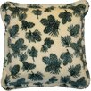 <strong>Acrylic / Polyester Winter Cones Pillow</strong> by Denali Throws