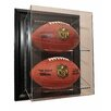 "<strong>Three Football ""Case-Up"" Display</strong> by Caseworks International"