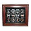<strong>Caseworks International</strong> NHL Twelve Puck Cabinet Style Display Case in Mahogany