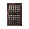 <strong>Sixty Puck Display Case in Mahogany</strong> by Caseworks International