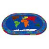 <strong>KidCarpet.com</strong> All Around the World Map Kids Rug