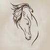Sweet Potato by Glenna Jean Happy Trails Stallion Vinyl Decal