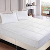 Stayclean Polyester Microfiber Down Alternative Water and Stain Resistant Mattress Pad