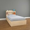 <strong>Alegria Bookcase Twin Headboard</strong> by Nexera