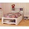 Nexera Nexera Dixie Storage Bed and Bookcase Headboard