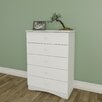 Nexera Vichy 5 Drawer Chest