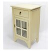 Heather Ann Creations 1 Drawer Accent Cabinet
