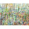 GreenBox Art Abstract Forest by Angelo Franco Painting Print on Canvas