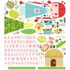 Oopsy Daisy Paper Doll Claire Peel and Place Wall Decal