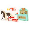 Lanard Horse Play Highland Chestnut Primped and Pretty Horse Grooming Set