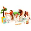 Lanard Horse Play Palomino and Paint Family Champions Horse Set