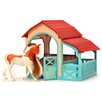 <strong>Lanard</strong> Horse Play American Painted Horse and Snap Together Stable Set