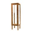 DK Living Curio Cabinet with Spiral Legs