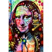 iCanvas 'Mona Lisa' by Dean Russo Graphic Art on Canvas
