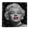 iCanvasArt 'Marilyn Monroe' by Ben Heine Graphic Art on Canvas