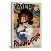 <strong>'Casino de Paris (Reouverture)' Vintage Advertisement on Canvas</strong> by iCanvasArt