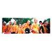 iCanvas Panoramic Buddhist Monks Luang Prabang Laos Photographic Print on Canvas
