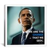 iCanvasArt Barack Obama Quote Canvas Wall Art
