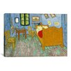 <strong>iCanvasArt</strong> 'Bedroom in Arles ll' by Vincent van Gogh Painting Print on Canvas