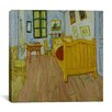 "<strong>iCanvasArt</strong> ""Bedroom in Arles"" Canvas Wall Art by Vincent van Gogh"