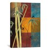 "<strong>iCanvasArt</strong> Decorative Art ""Bamboo"" by Pablo Esteban Painting Print on Canvas"
