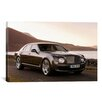 iCanvas Cars and Motorcycles Bentley Mulsanne Photographic Print on Canvas