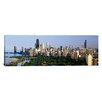 iCanvas Panoramic Buildings in a City, View Of Hancock Building and Sears Tower, Lincoln Park, Lake Michigan, Chicago, Cook County, Illinois, Photographic Print on Canvas