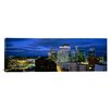 iCanvas Panoramic Buildings Lit Up at Dusk, Minneapolis, Minnesota, Photographic Print on Canvas