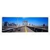 iCanvas Panoramic Brooklyn Bridge, Manhattan, New York Photographic Print on Canvas
