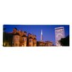 iCanvas Panoramic Buildings Lit Up at Dusk, Transamerica Pyramid, San Francisco, California, Photographic Print on Canvas