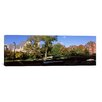 iCanvas Panoramic Bridge in Front of a University, Music and Science Hall, Madison, Dane County, Wisconsin Photographic Print on Canvas