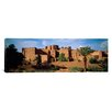 <strong>iCanvasArt</strong> Panoramic Buildings in a Village Morocco Photographic Print on Canvas