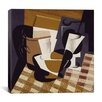 "iCanvas ""Broc et Verre (Wine Jug and Glass)"" Canvas Wall Art by Juan Gris"