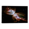 iCanvasArt Astronomy and Space Butterfly Nebula (Hubble Space Telescope) Photographic Print on Canvas