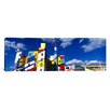 iCanvasArt Panoramic Building with Geometric Decorations, Minneapolis, Minnesota Graphic Art on Canvas