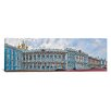 iCanvasArt Panoramic Catherine Palace Courtyard, St. Petersburg, Russia Photographic Print on Canvas