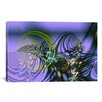 iCanvasArt Digital Birth Graphic Art on Canvas