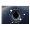 iCanvas Astronomy and Space Black Hole MAXI Absorbing a Star (XMM-Newton Space Telescope) Photographic Print on Canvas
