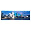iCanvasArt Panoramic Buildings at the Waterfront Cleveland, Ohio Photographic Print on Canvas