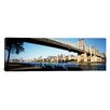 iCanvas Panoramic Queensboro Bridge, Manhattan, New York City Photographic Print on Canvas