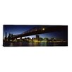 iCanvas Panoramic Queensboro Bridge, East River, Manhattan, New York City, New York State Photographic Print on Canvas