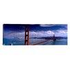 iCanvas Panoramic Bridge over a River, Golden Gate Bridge, San Francisco, California Photographic Print on Canvas