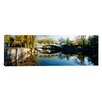 iCanvas Panoramic Bridge Across a River, Yahara River, Madison, Dane County, Wisconsin Photographic Print on Canvas