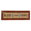 iCanvas 'Bless Our Home' by Erin Clark Textual Art on Canvas