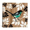 "iCanvas ""Bird Patchwork II"" Canvas Wall Art by Erin Clark"