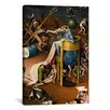 iCanvasArt 'Bird Man from the Garden of Earthly Delights 1500' by Hieronymus Bosch Painting Print on Canvas
