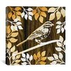 "iCanvas ""Birdie II"" Canvas Wall Art by Erin Clark"