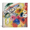 "<strong>iCanvasArt</strong> ""Black Lines"" Canvas Wall Art by Wassily Kandinsky Prints"